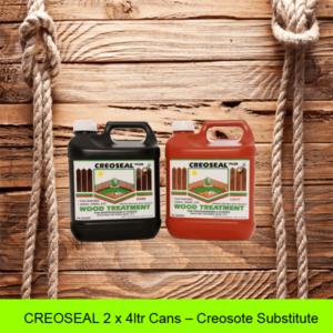 CREOSEAL-2-x-4ltr-Cans - Creosote-Substitute