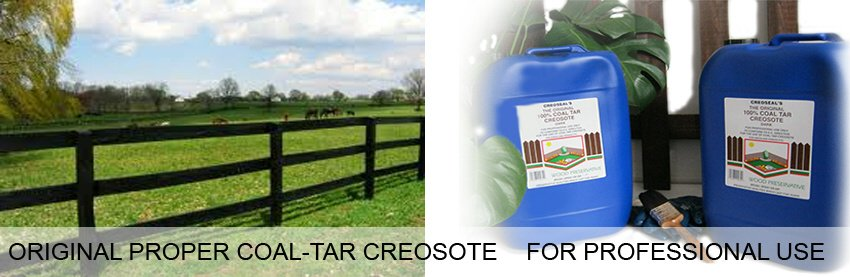 Original, Proper Traditional Creosote