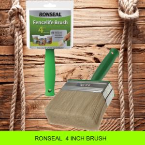 """Ronseal 4"""" Brush"""